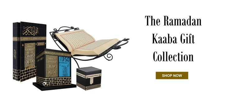 Give the ultimate gift this Ramada to your loved one with the Kaaba Gift Collection.