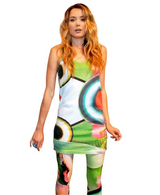 Acid Paint Tank Dress from Something Else $99