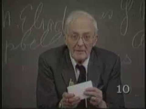 Lecture 1 from Hugh Nibley's Pearl of Great Price Lectures Series at Brigham Young University, Winter Semester, 1986.