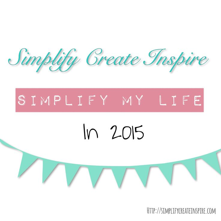 The SIMPLIFY MY LIFE year long blog challenge - monthly tasks to declutter, organise and simplify your home and life from top to bottom. Join in any time and be on the road to your own simplified life.