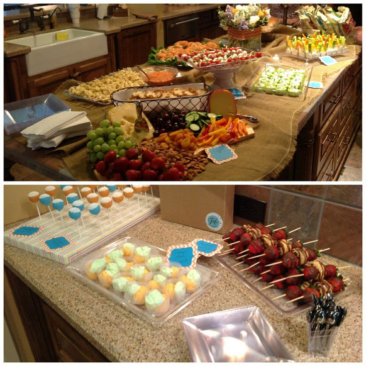 Miniature Foods For Baby Shower