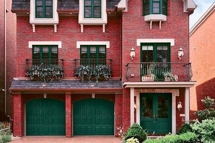 Impression Collection Model 981 Green Raised Panel Vertical Style · Fiberglass Garage DoorsWood ... & 7 best Impression Collection images on Pinterest | Fiberglass garage ...