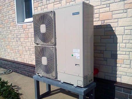 тепловые насосы Hitachi