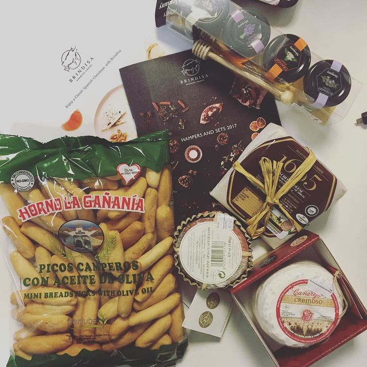 Thank you @brindisaspanishfoods for our Spanish cheese hamper that's arrived in the office. The team are tucking in!  #cheese #spanishcheese