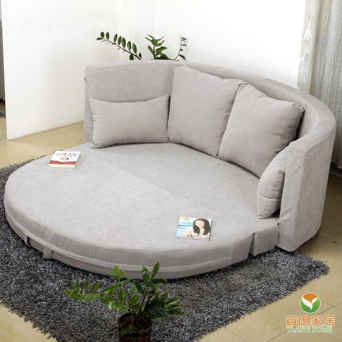 可以翻开来的沙发圆床