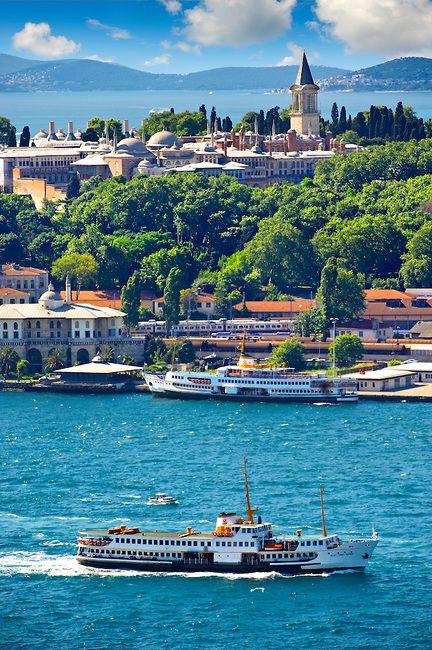 The Topkapi Palace, Istanbul Turkey.