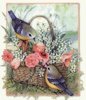 LOVE BIRDS (143 pieces)