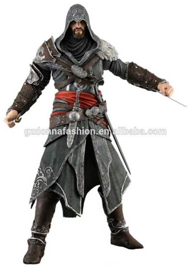 """Assassins Creed 3 Altair Player Action Figure Toy Limited Edition 7"""" 18CM Assassins creed figure toy, View Assassins Creed , donnatoyfirm Product Details from Guangzhou Donna Fashion Accessory Co., Ltd. on Alibaba.com"""