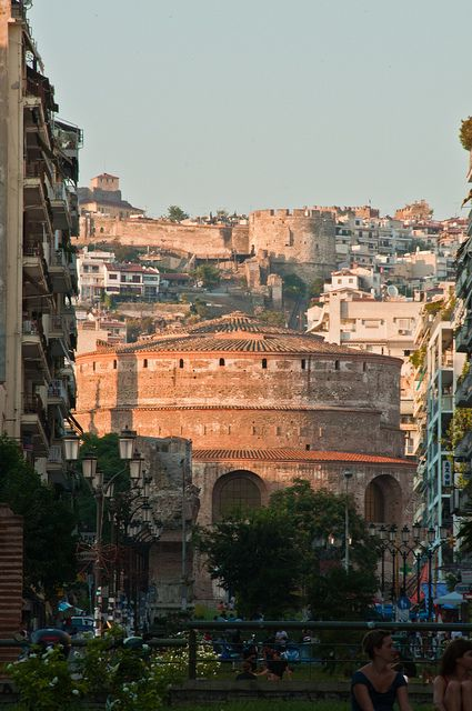 VISIT GREECE| Rotonda, Saint George, #thessaloniki #Macedonia  http://www.visitgreece.gr/en/main_cities/thessaloniki