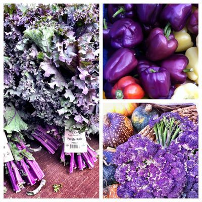 Purple Vegetables Are Cool And Help Fight Disease