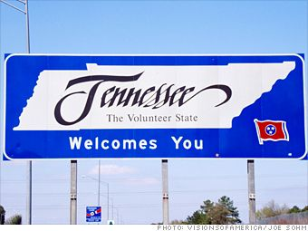 Tennessee State Welcome Signs On Facebook Welcome To