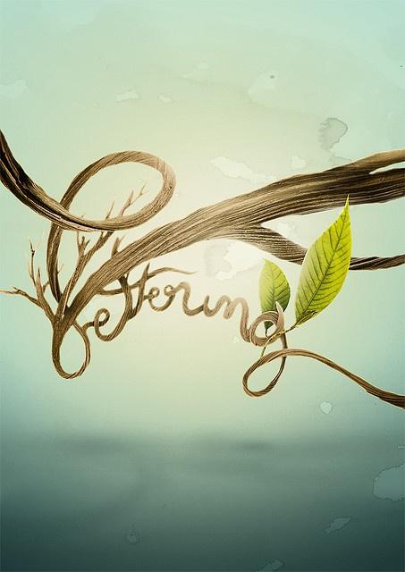 Beautiful tree lettering!