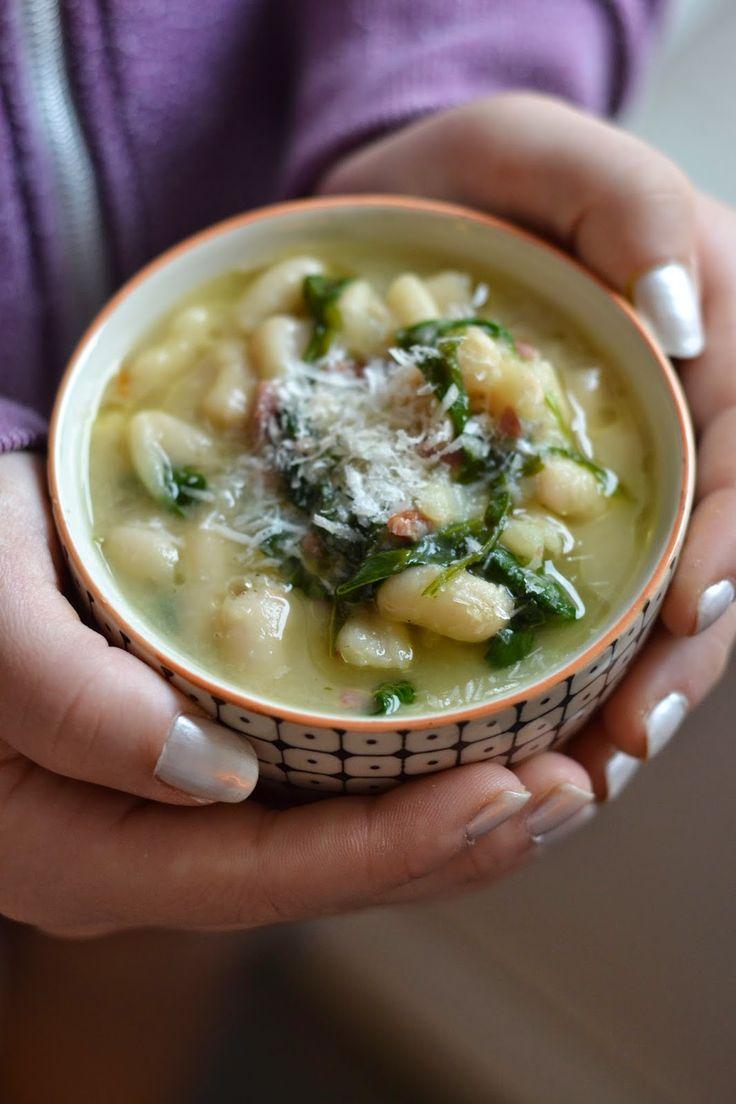 La Cuisine c'est simple: Simple comme des haricots blancs crémeux au parmesan