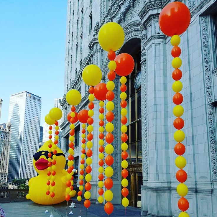 25 best images about miscellaneous balloon decor on pinterest for Balloon decoration chicago