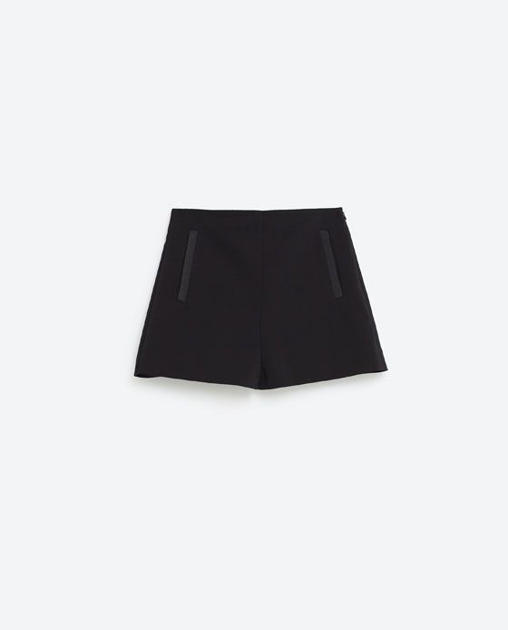 Image 8 of HIGH WAISTED SHORTS from Zara