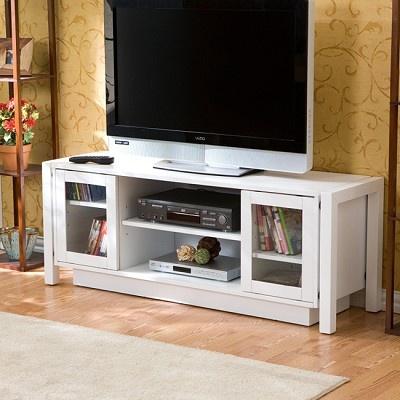 White TV Stand Media Console