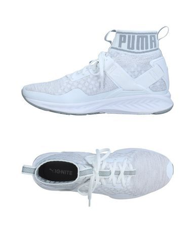 PUMA Men's High-tops & sneakers Light grey 11.5 US