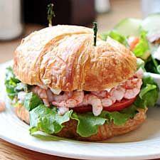 Sandwich aux crevettes #recettesduqc #lunch #sandwich
