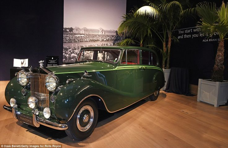 His Highness the Aga Khan III was among just 16 Royalty and Heads of State to bespoke commission a Rolls-Royce Phantom IV.   His Highness was the 48th Imam to the world's 15 million Nizari Ism…