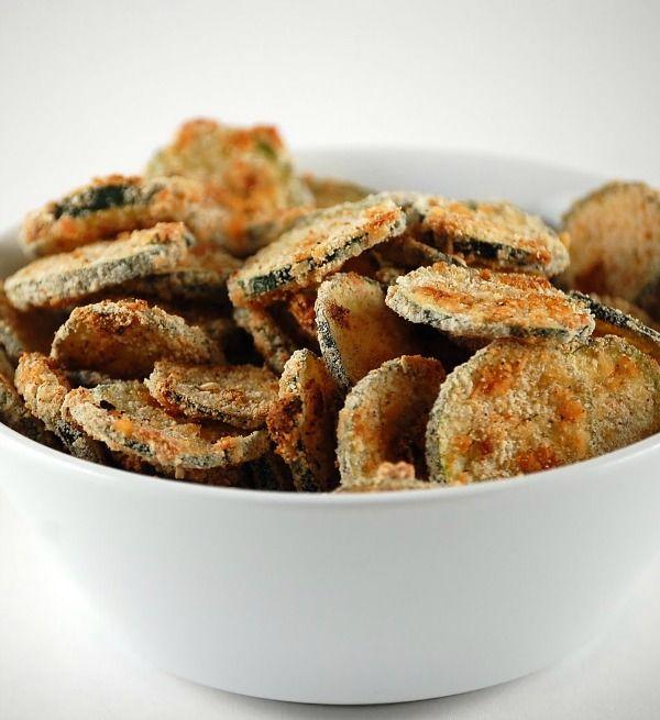 Baked Zucchini ChipsZucchini Recipe, Meatless Mondays, Baked Zucchini ...