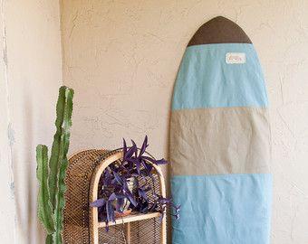 Gris toile planche de surf Surf chaussette par theAtlanticOcean
