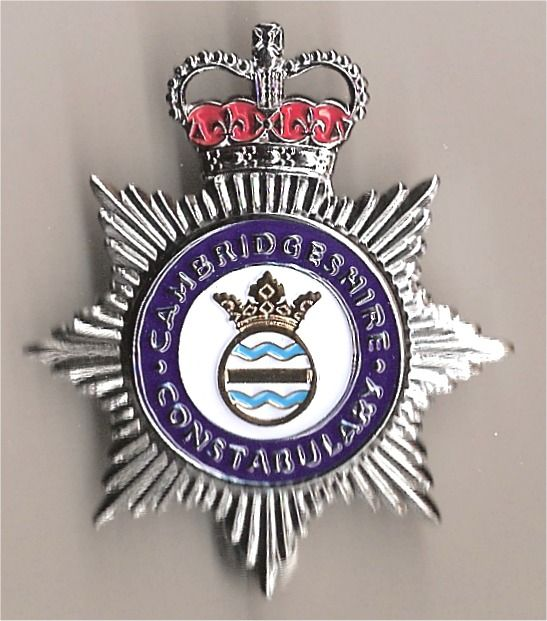British Police online Museum - Cambridgeshire Constabulary/2008 Cap Badge All Ranks