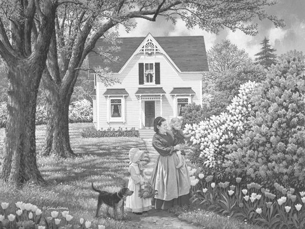 Coloring Pages For Adults Homes : Best coloring nature and houses images coloring