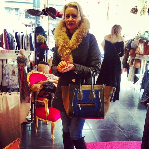 Bag envy! Redistributing Fashion Luxury Pop Up Shop - Feb 2013