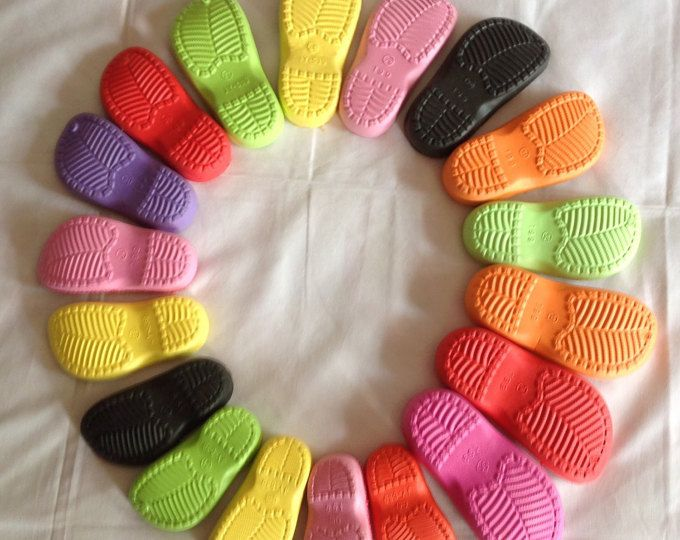 DIE SOHLE. Вoots - Gummisohle für Häkel-Schuhe - Winterschuhe, Stiefel Sohlen - bunte Gummisohlen für Schuhe, RUBBER Sohle für Kinder