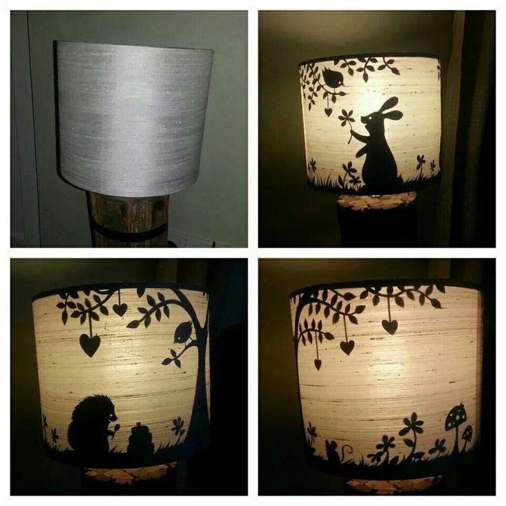 68 best papercut lamp images on pinterest paper art silhouettes papercut lampshade paper panda mozeypictures Choice Image