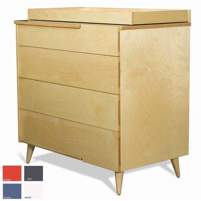 TrueModern 11-Ply Changing Table Dresser -