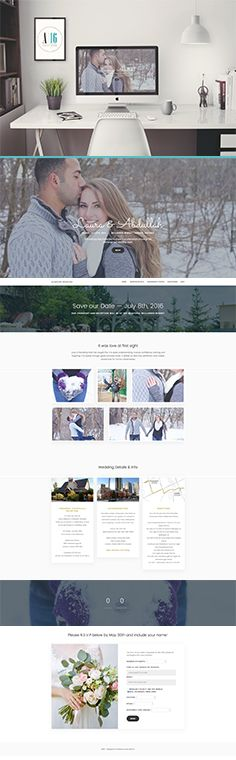 Clean, and simple and easy to use wedding website. Send in your pictures and info, and let Avenue16 do the rest. Visit alnasserwedding.avenue16.ca to view this wedding website.