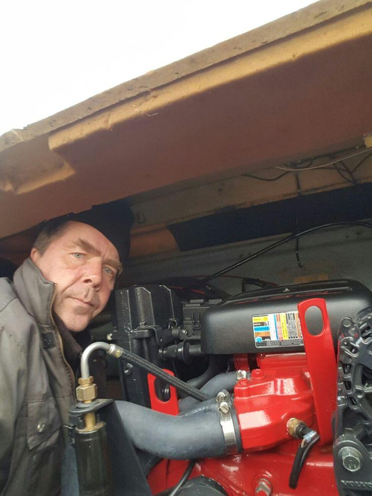 draining engine before winter
