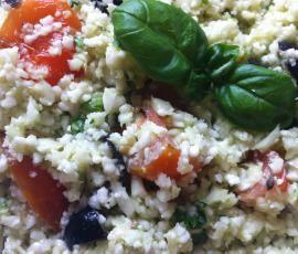 Recept Květákový kuskus od safinka - Recept z kategorie Hlavní jídla - vegetariánská