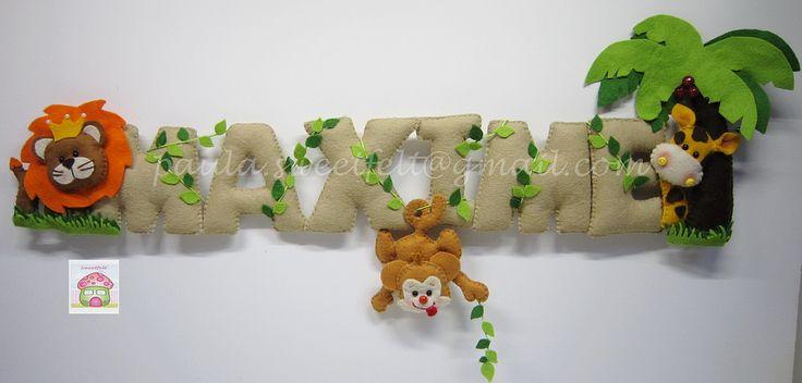 ♥♥♥ Para o quartinho do Maxime que já é todo decorado com o tema animais da selva. | Flickr - Photo Sharing!