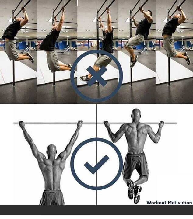 Correct pull up form #health #fitness   Fitness   Pinterest