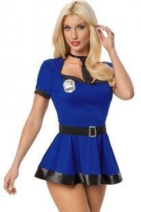 Маскарадный костюм полицейского lc8398