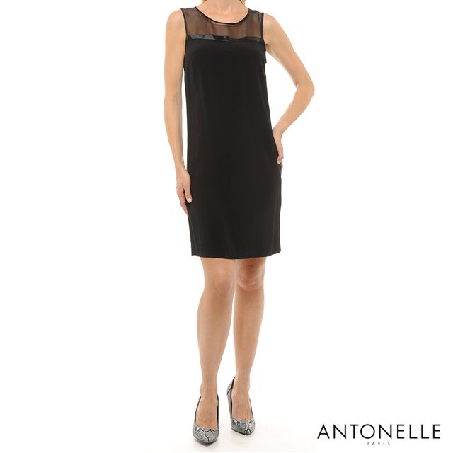 """Le noir est le refuge de la couleur."" Gaston Bachelard  #Antonelleparis #clothing  #robe #noir #classic #chic #trend #moda #lookoftheday  #lookbook #womenswear #antonelle #paris"