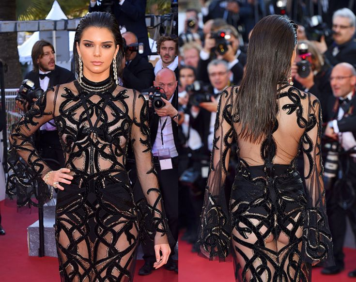 Kendall Jenner Wows In Sheer Black Gown At Cannes Film Festival 2016 http://ift.tt/1TQ1k0I #FashionStyleMag #Fashion