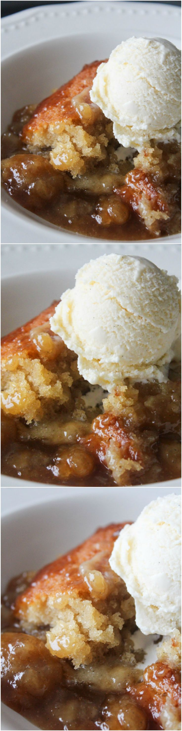 Hot Fudge Vanilla Pudding Cake