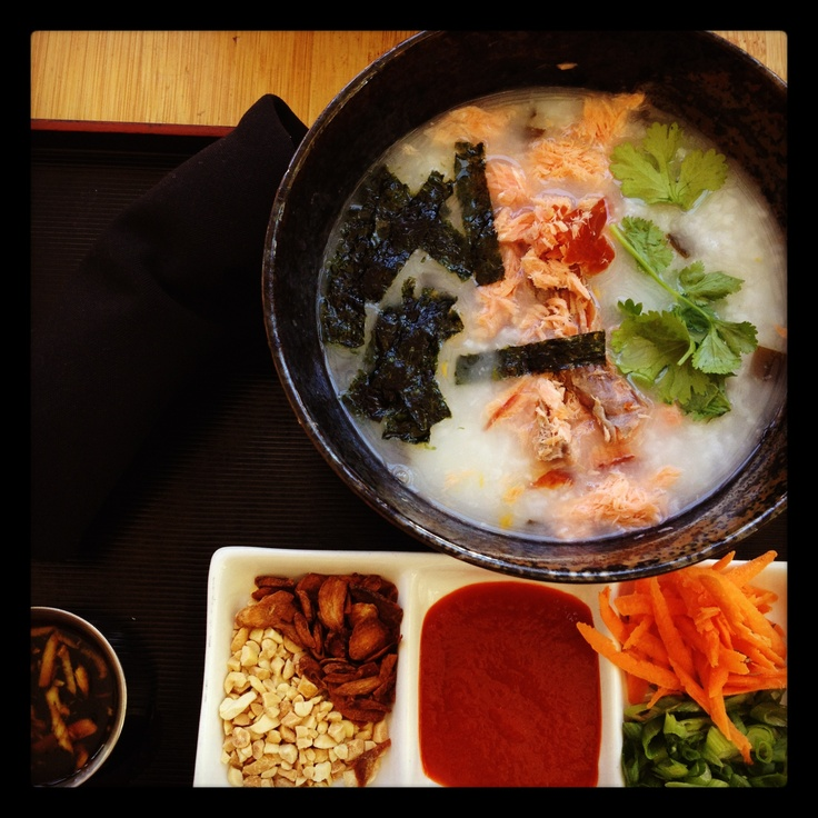 Jook, korean rice porridge
