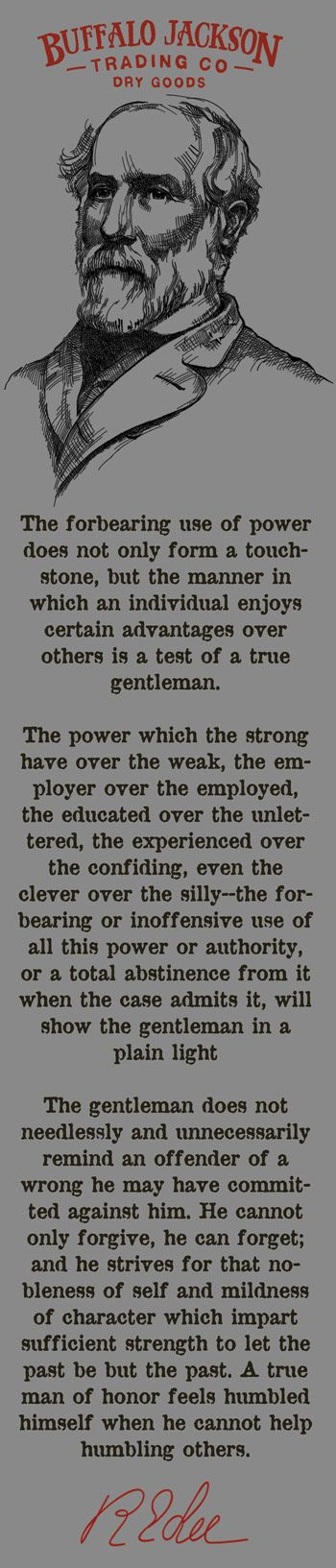 Robert E Lee and the Definition of a Gentleman