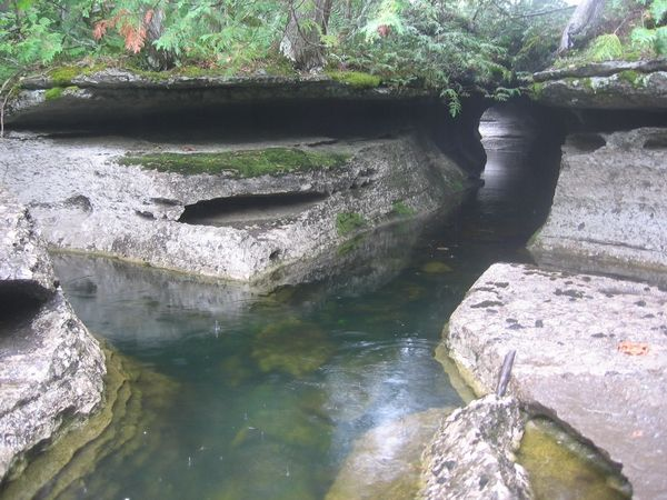 Spankys Paradise Cave - located in Southwestern Ontario.