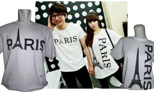 Kaos Couple : Paris - Jual kaos couple, kaos custom, kaos anak, kaos dewasa, kaos souvenir ulang tahun, kaos event, dll SMS / WA : 087880741923, PIN BB : 228CCF29