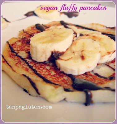 Fluffy Pancake Tanpa Telur #tanpagluten.com