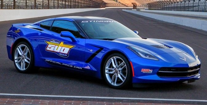 La Corvette Stingray Pace Car au Chevrolet Detroit Belle Isle Grand Prix