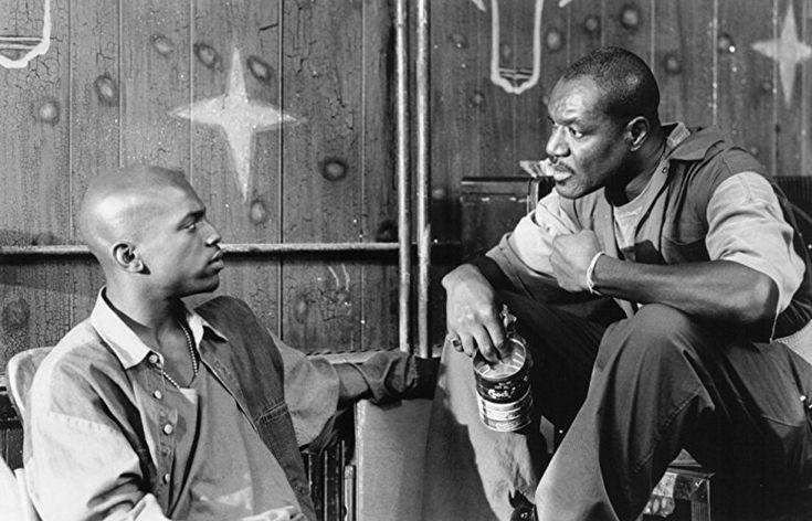 Mekhi Phifer and Delroy Lindo in Clockers (1995)