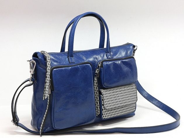 ARCADIA - genti de dama : Geanta de dama albastra AL15B