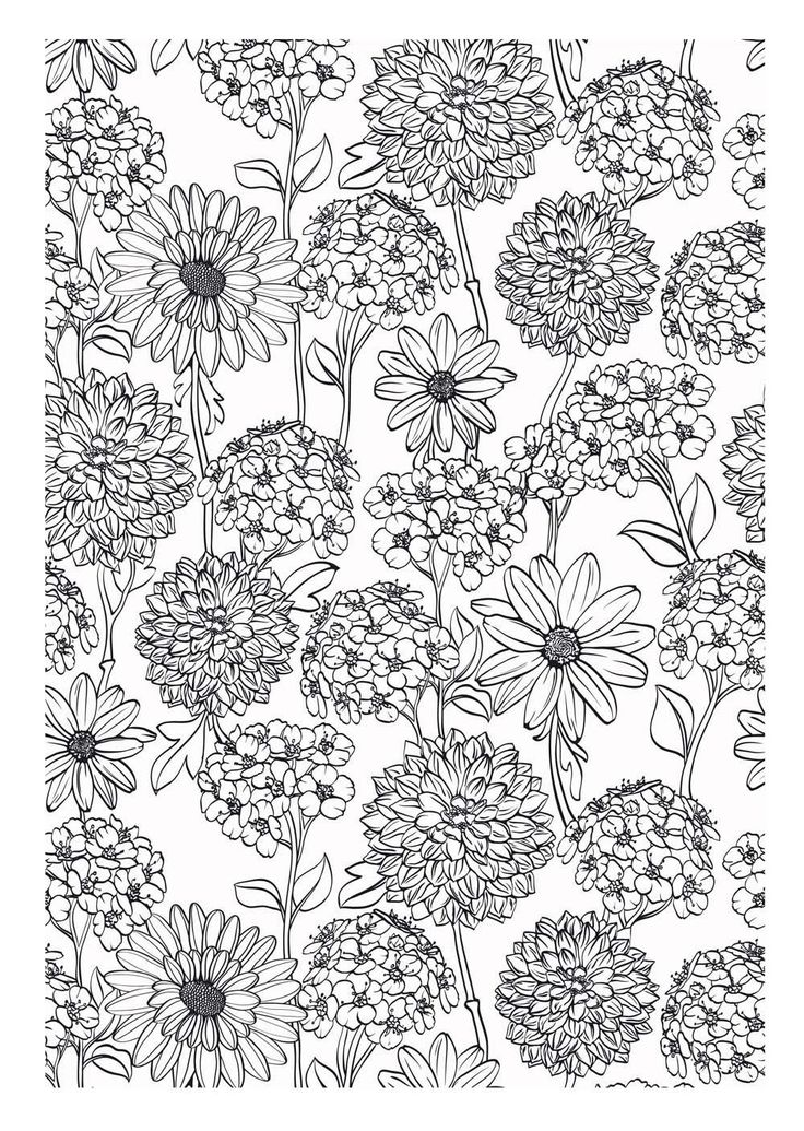 art therapy coloring pages - art th rapie 100 coloriages anti stress