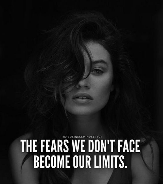 Fears that become limits   Inspiring quotes pinned by mariellerobbe.com